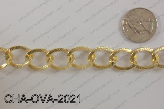 Chain Oval 20mm 32.8' CHA-OVA-2021