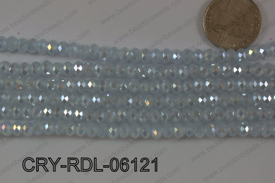Crystal Rondel 6mm CRY-RDL-06121