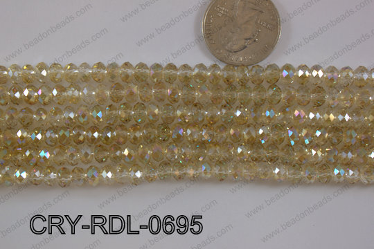 Crystal Rondel 6mm CRY-RDL-0695