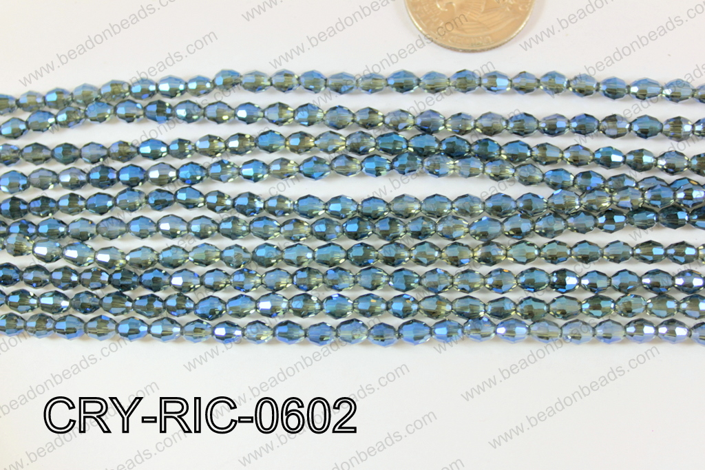 Angelic Crystals Rice 6mm CRY-RIC-0602
