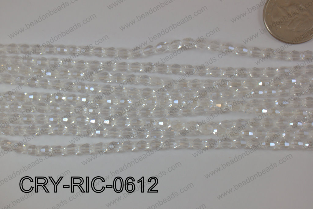 Angelic Crystals Rice 6mm CRY-RIC-0612