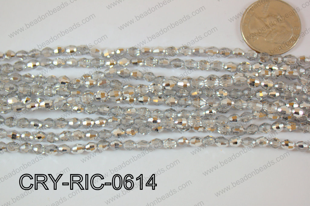 Angelic Crystals Rice 6mm CRY-RIC-0614