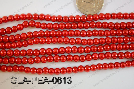 Glass Pearl 6mm GLA-PEA-0613
