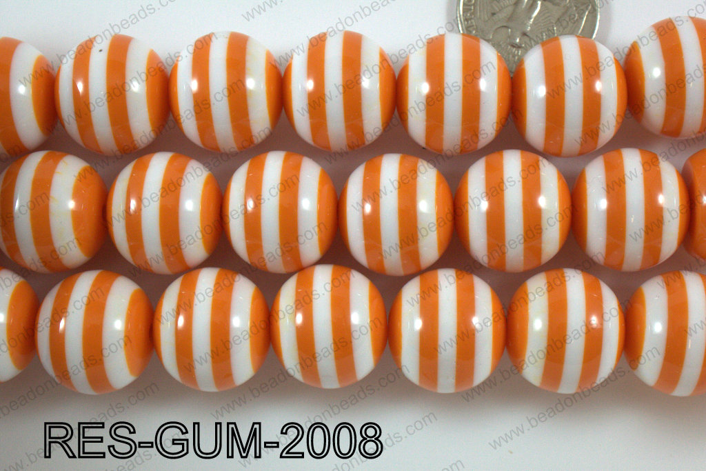 Bubble Gum Bead 20mm RES-GUM-2008