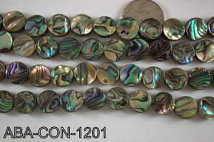 Abalone Coin 12mm ABA-CON-1201