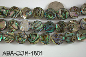 Abalone Coin 14mm ABA-CON-1601