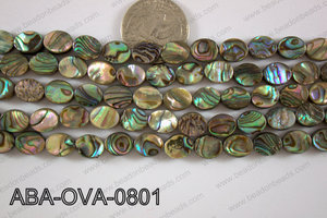 Abalone Oval 8x10mm ABA-OVA-0801
