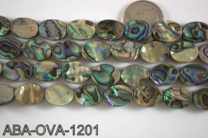 Abalone Oval 12x16mm ABA-OVA-1201