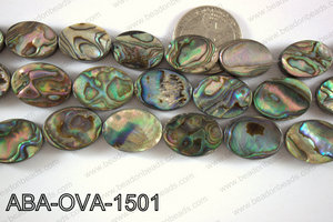 Abalone Oval 15x20mm ABA-OVA-1501