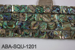 Abalone Square 12x12mm ABA-SQU-1201