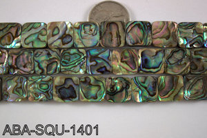 Abalone Square 14x14mm ABA-SQU-1401