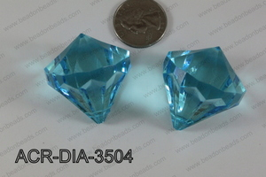 Acrylic Diamond Blue 35mm ACR-DIA-3504