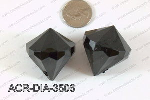 Acrylic Diamond Black 35mm ACR-DIA-3506