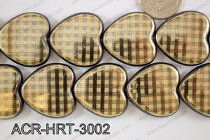 Acrylic Heart 30mm ACR-HRT-3002