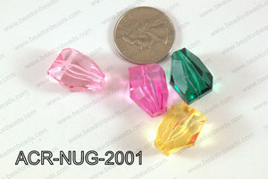 Acrylic Nugget Multicolor 20mm ACR-NUG-2001