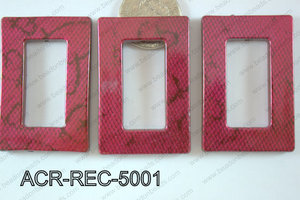 Acrylic Rectangle 500g Bag 30x50mm ACR-REC-5001