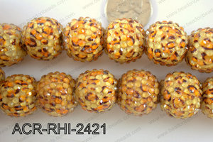 Acrylic Rhinestone 8 Pieces 22mm ACR-RHI-2421