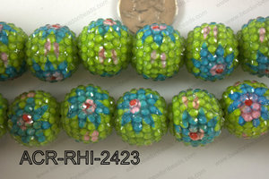 Acrylic Rhinestone 8 Pieces 22mm ACR-RHI-2423