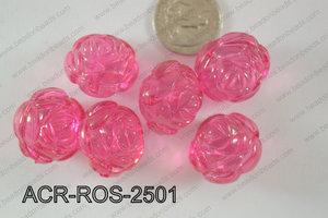 Acrylic Rose 500g Bag 25mm ACR-ROS-2501