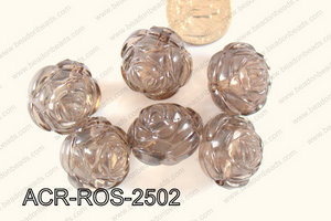 Acrylic Rose 500g Bag 25mm ACR-ROS-2502