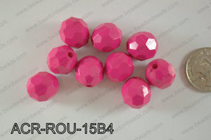Acrylic Round 500g Bag 15mm ACR-ROU-15B4