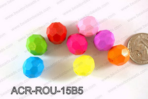 Acrylic Round 500g Bag 15mm ACR-ROU-15B5
