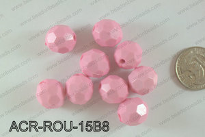 Acrylic Round 500g Bag 15mm ACR-ROU-15B8