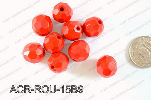 Acrylic Round 500g Bag 15mm ACR-ROU-15B9