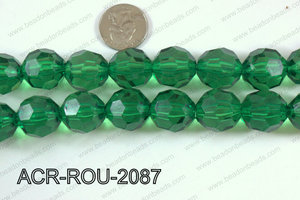 Acrylic Round faceted 20mm  ACR-ROU-2087