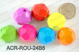 Acrylic Round 500g Bag 24mm ACR-ROU-24B5