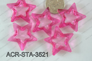 Acrylic Star 500g Bag 35mm ACR-STA-3521