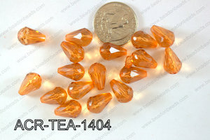 Acrylic Teardrop 500g Bag 14mm ACR-TEA-1404