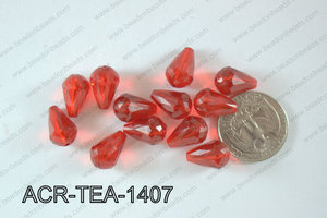 Acrylic Teardrop 500g Bag 14mm ACR-TEA-1407