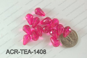 Acrylic Teardrop 500g Bag 14mm ACR-TEA-1408
