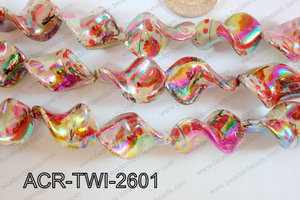 Acrylic Twisted 17x26mm ACR-TWI-2601
