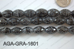 Black Agate Grape 16mm AGA-GRA-1601