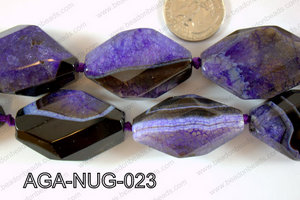 Agate Nugget 40x25mm AGA-NUG-023
