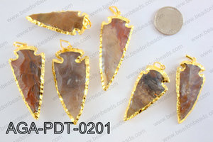 Agate Arrow PendantAGA-PDT-0201