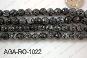 Black Agate Round 10mm AGA-RO-1022
