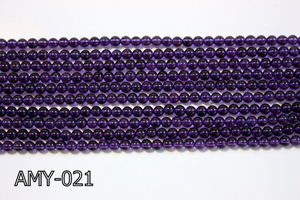 Amethyst Round 4mm AMY-021