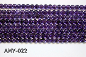 Amethyst Round 6mm AMY-022