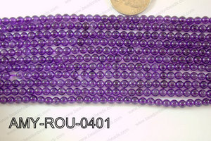 Amethyst Round 4mm AMY-ROU-0401