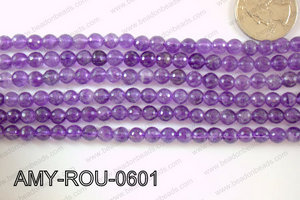 Amethyst Round Faceted 6mm AMY-ROU-0601