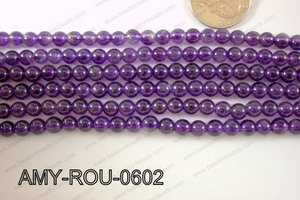 Amethyst Round 6mm AMY-ROU-0602