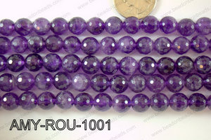 Amethyst Round Faceted 10mm AMY-ROU-1001