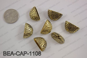 Bead cap 14X24mm, gold BEA-CAP-1108