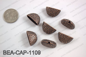 Bead cap 14X24mm, copper BEA-CAP-1109