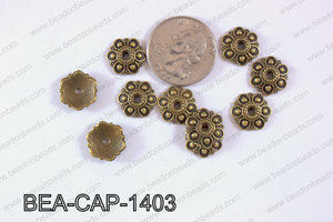 Bead Cap 250g Bag 14mm BEA-CAP-1403