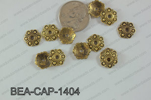 Bead Cap 250g Bag 14mm BEA-CAP-1404