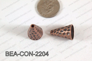 Bead Cap Cone Copper 22x16mm BEA-CON-2204